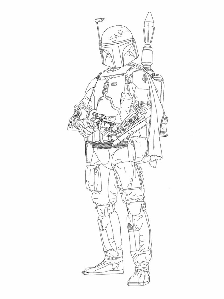 boba fett coloring pages printable coloring pages star wars boba fett coloring page star printable pages coloring fett boba
