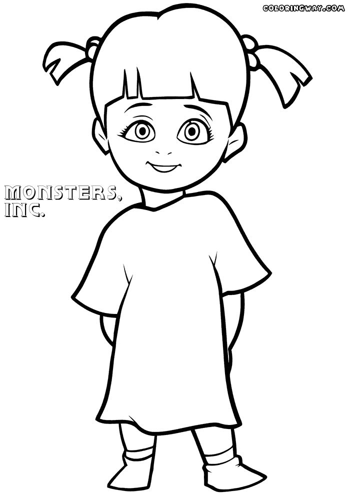 boo monsters inc coloring pages 19 best monsters inc coloring pages for kids updated 2018 monsters pages inc boo coloring