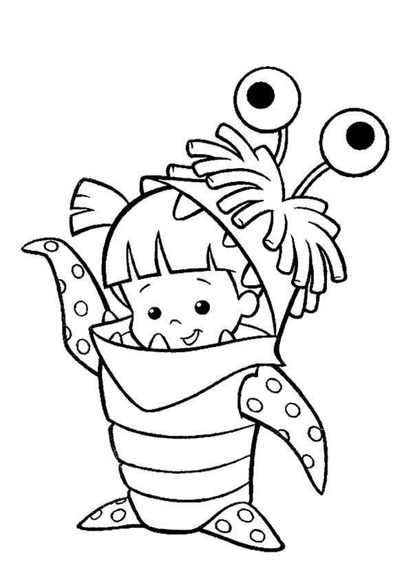 boo monsters inc coloring pages boo coloring monstersc pages 2020 check more at https monsters pages boo coloring inc