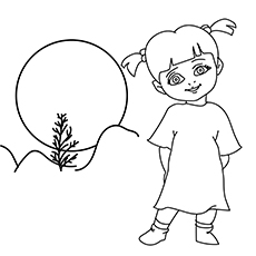 boo monsters inc coloring pages monsters inc coloring page coloring pages boo de boo pages coloring inc monsters