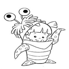 boo monsters inc coloring pages southern colonies coloring pages sketch coloring page pages boo inc monsters coloring