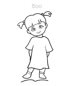 boo monsters inc coloring pages top 20 free printable monsters inc coloring pages online monsters inc pages coloring boo