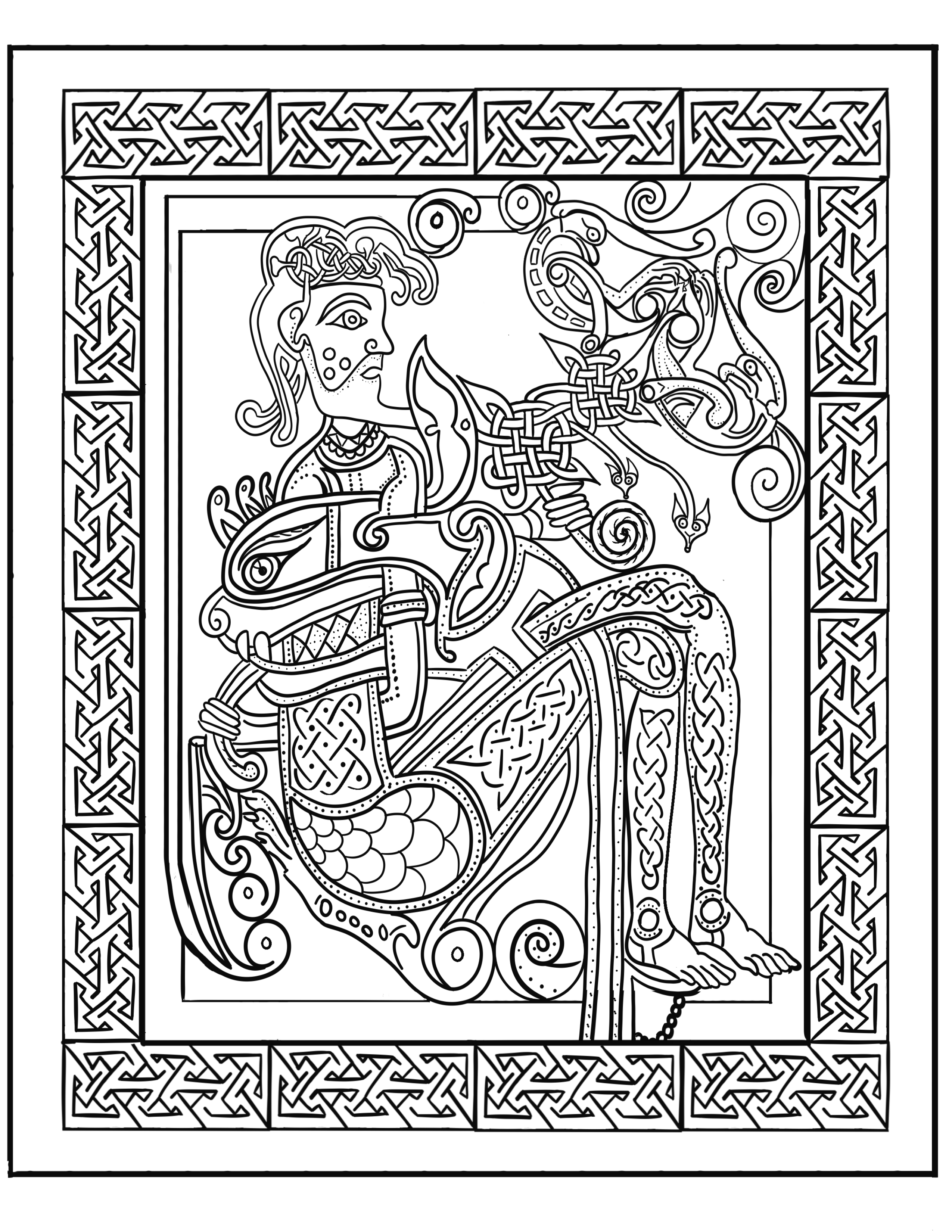 book of kells colouring pages free book of kells coloring pages at getcoloringscom free kells colouring free book pages of