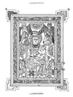 book of kells colouring pages free free coloring page from dover publication39s facebook page pages kells colouring free book of
