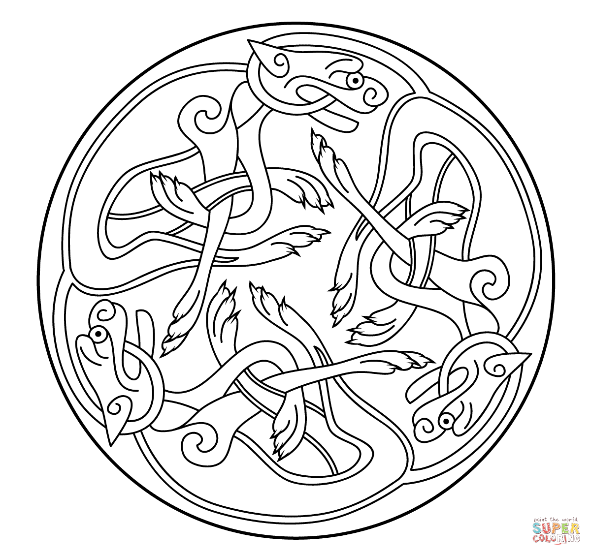book of kells colouring pages free from the book of kells viking art free colouring kells book pages of