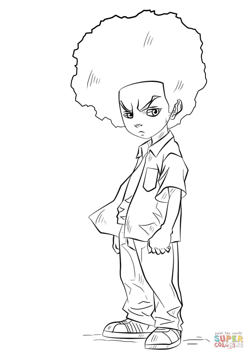 boondocks coloring pages boondocks pages coloring pages boondocks coloring pages