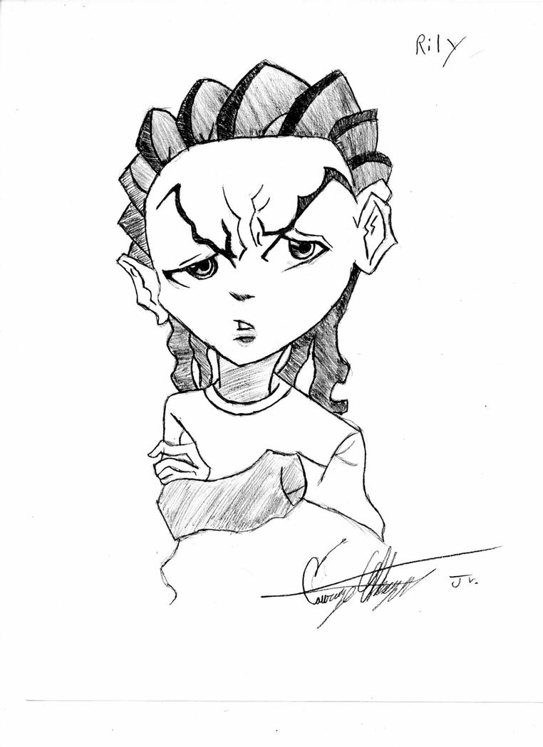 boondocks coloring pages riley boondocks coloring sheets coloring pages pages boondocks coloring
