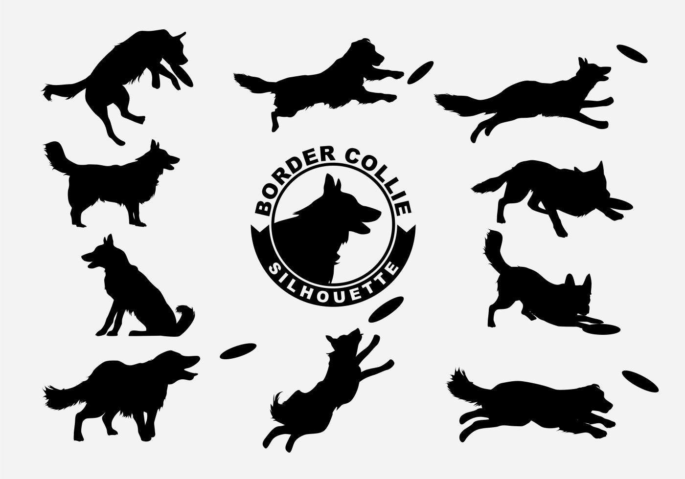 border collie silhouette border collie silhouette at getdrawings free download border silhouette collie