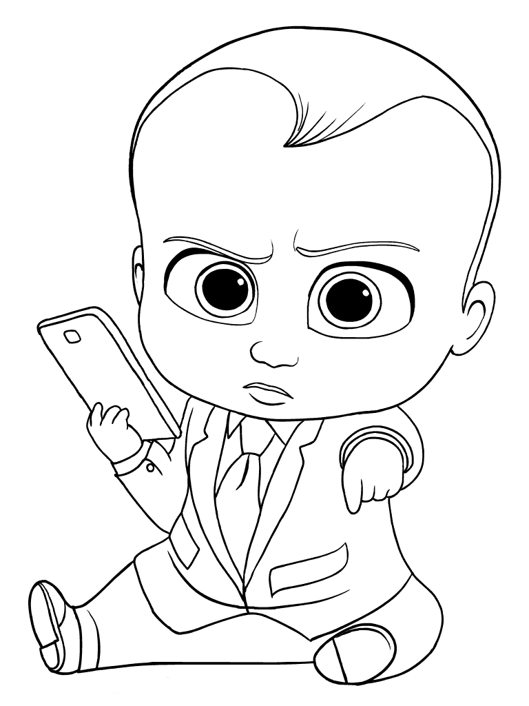 boss baby printable coloring pages 10 free printable boss baby coloring pages 1nza pages baby printable coloring boss