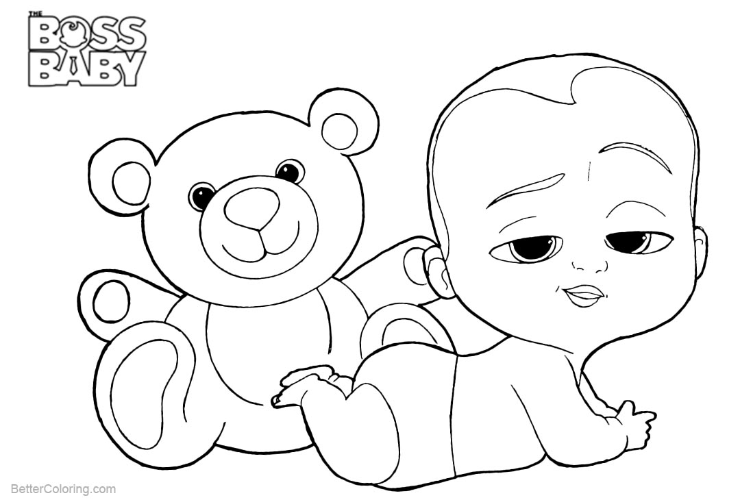 boss baby printable coloring pages boss baby coloring page baby boss printable pages coloring