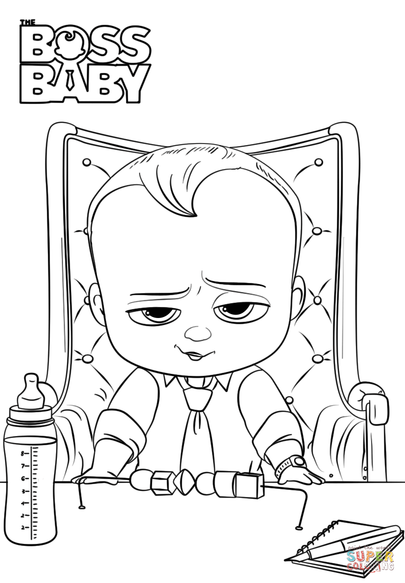boss baby printable coloring pages boss baby coloring page free printable coloring pages baby pages printable boss coloring