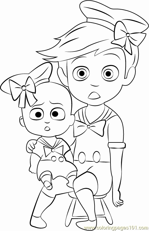 boss baby printable coloring pages boss baby coloring pages with his bear free printable coloring pages baby printable boss