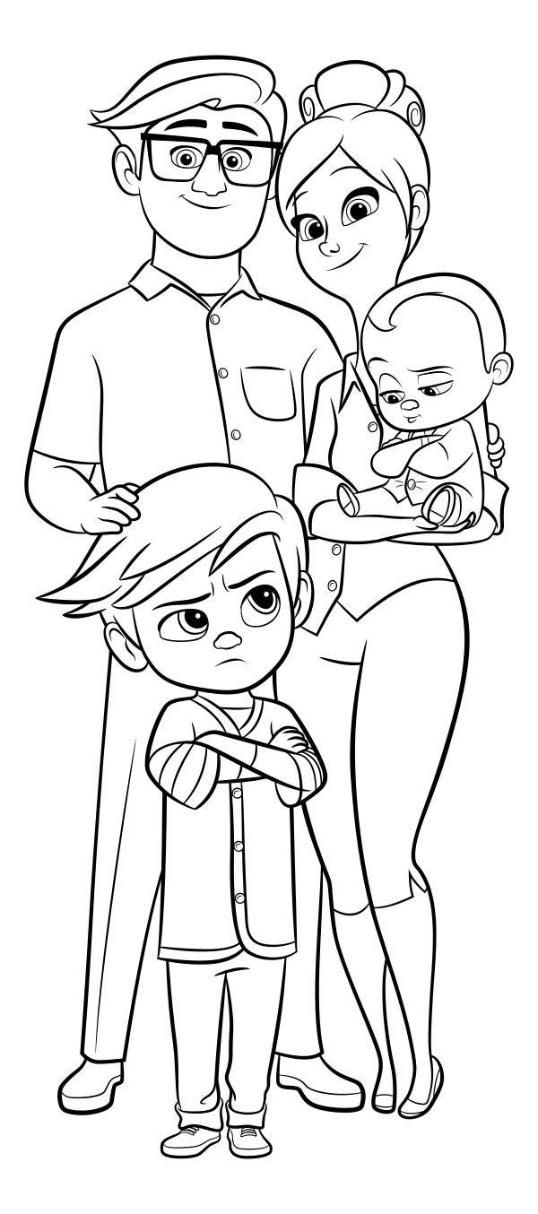 boss baby printable coloring pages the boss baby coloring pages printable printable baby boss pages coloring