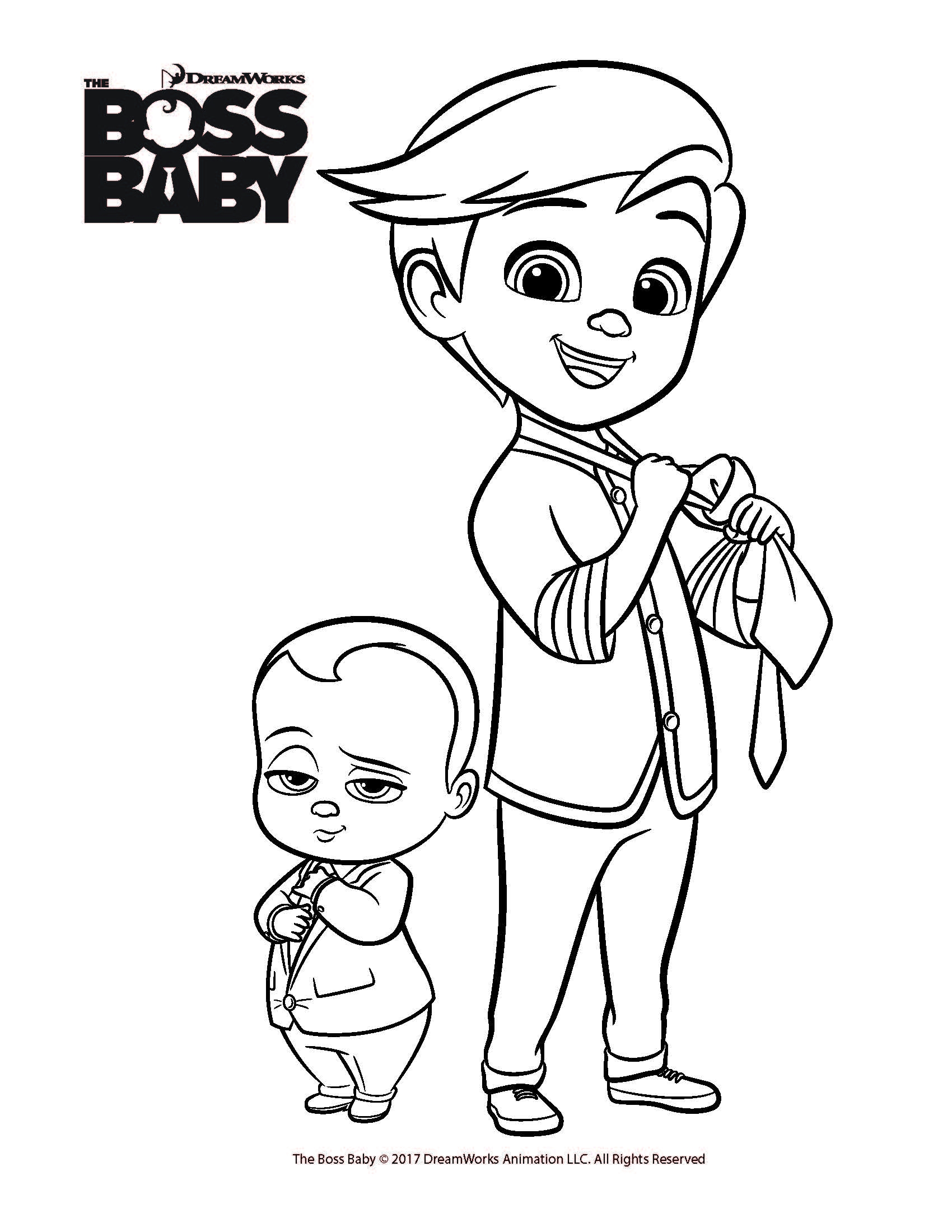 boss baby printable coloring pages the boss baby coloring pages to download and print for pages printable baby boss coloring