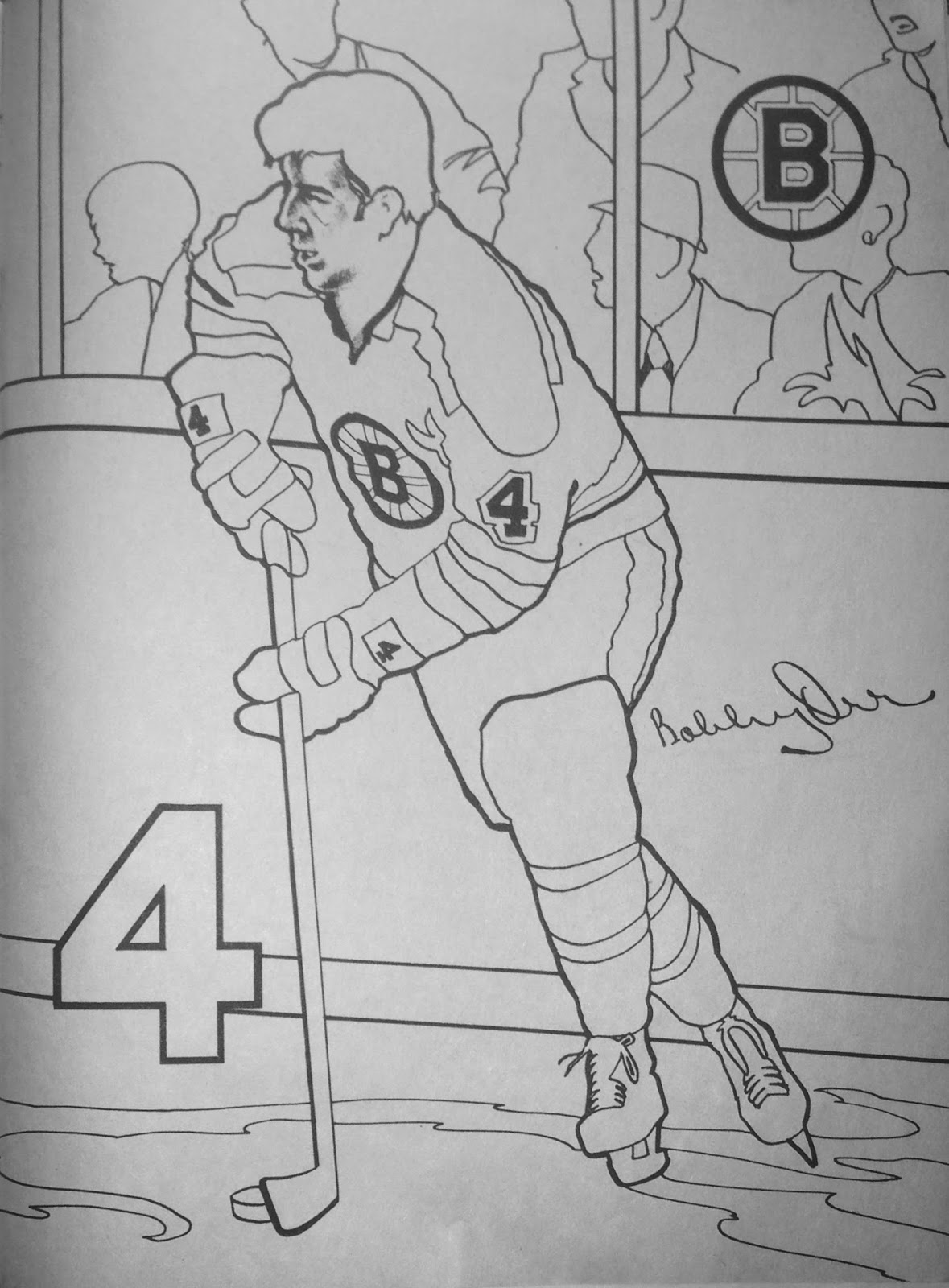 boston bruins coloring pictures boston bruins 1972 coloring book boston bruins pictures coloring