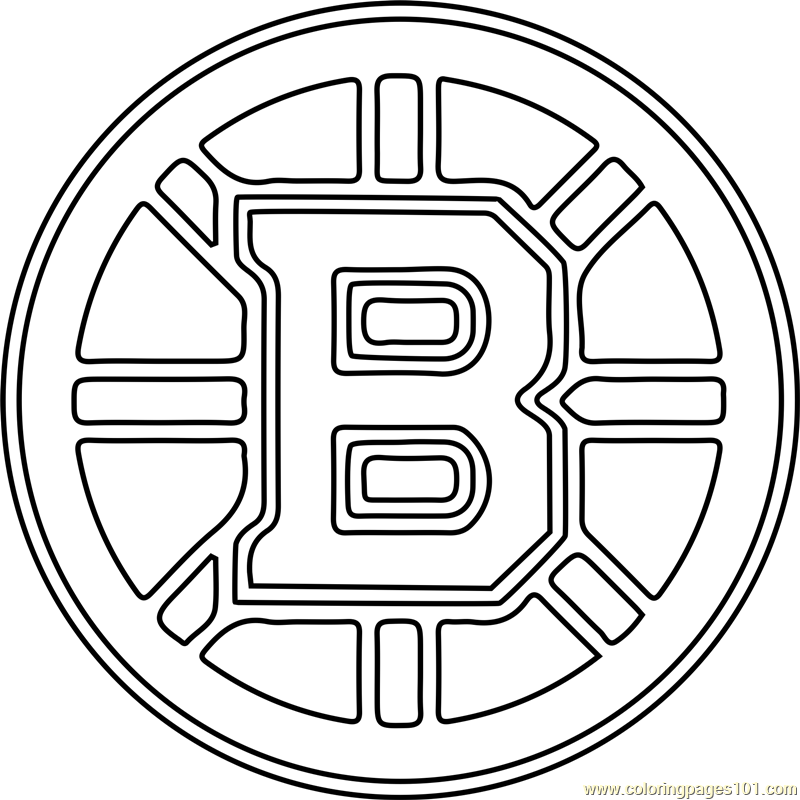 boston bruins coloring pictures boston bruins color page 1001coloringcom pictures bruins boston coloring