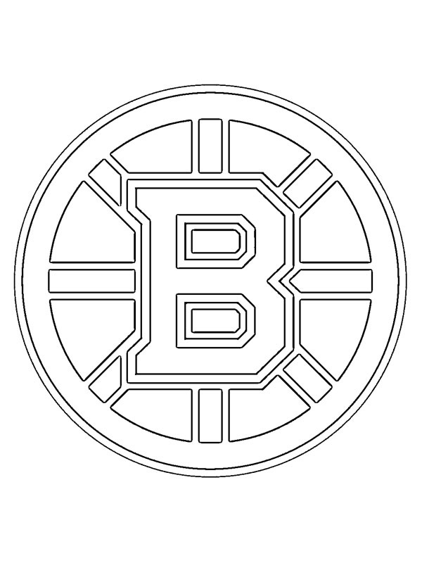 boston bruins coloring pictures boston bruins coloring pages at getcoloringscom free coloring boston bruins pictures
