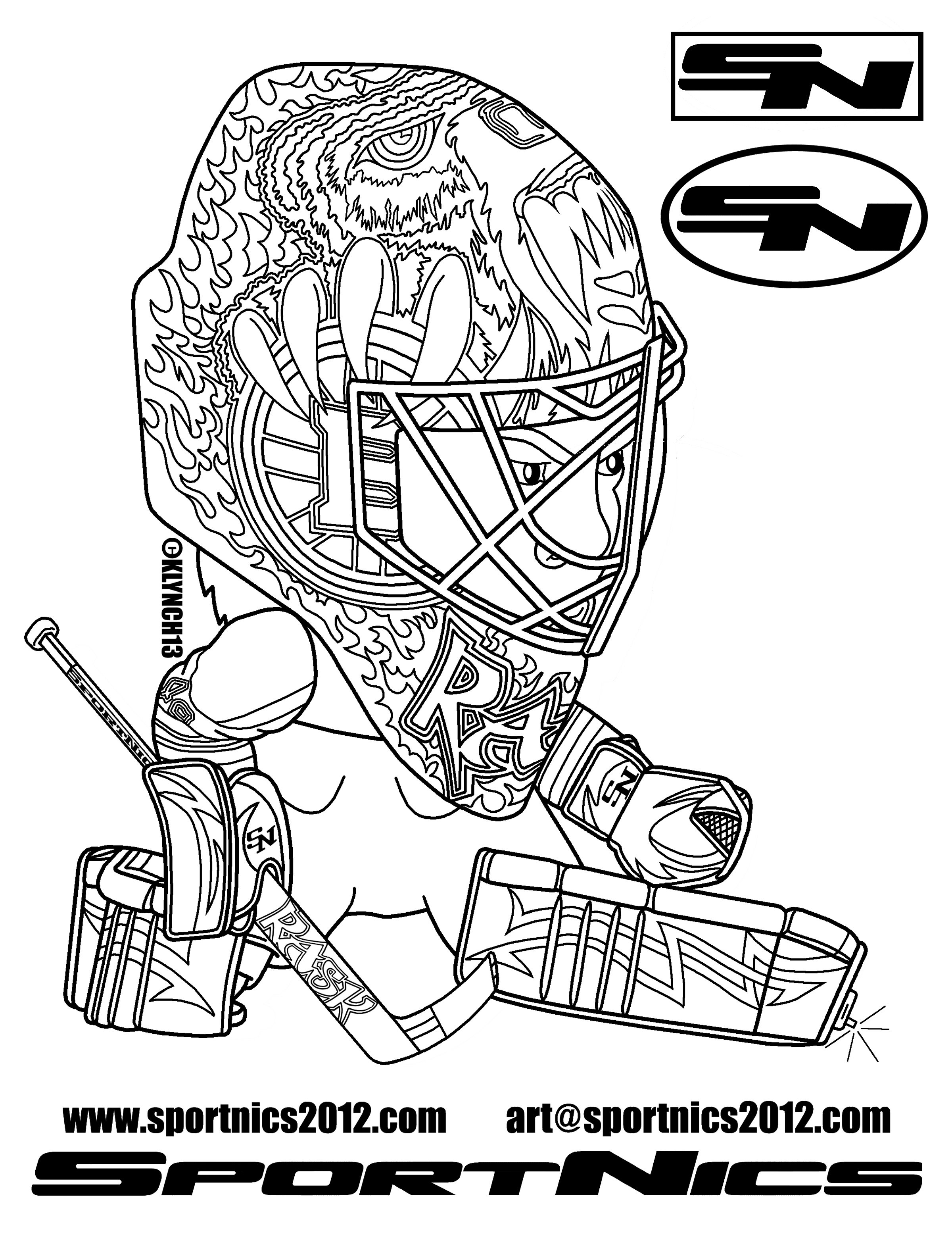 boston bruins coloring pictures goalie coloring pages at getcoloringscom free printable coloring bruins pictures boston