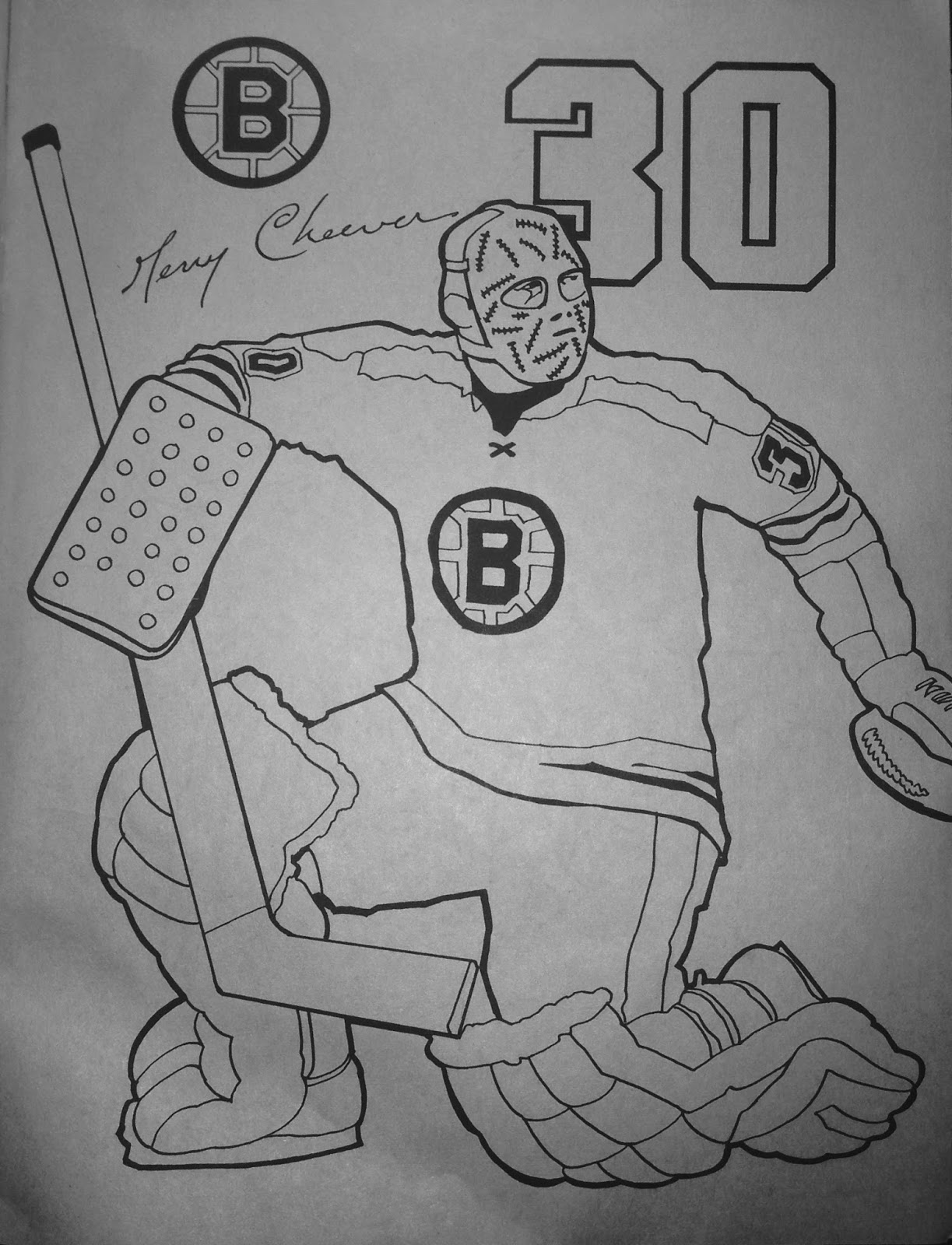 boston bruins coloring pictures nitzy39s hockey den boston bruins 1972 coloring book coloring boston bruins pictures