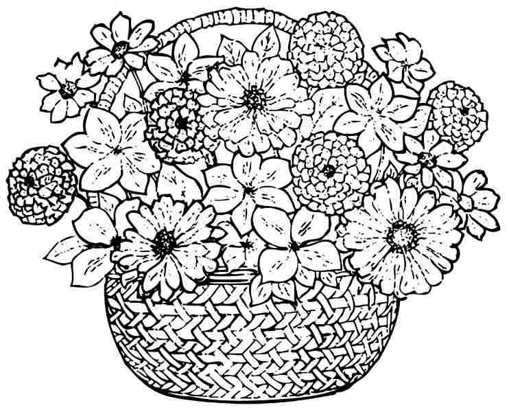 bouquet of roses coloring pages bouquet of flowers coloring pages for childrens printable coloring roses pages of bouquet