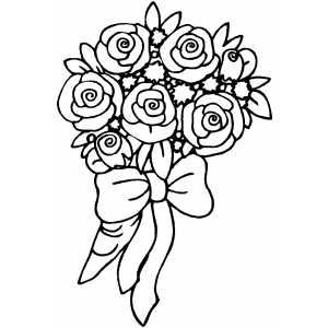 bouquet of roses coloring pages bouquet of roses coloring pages coloring of roses pages bouquet