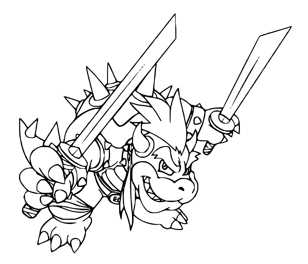 bowser coloring bowser jr coloring pages coloring home bowser coloring