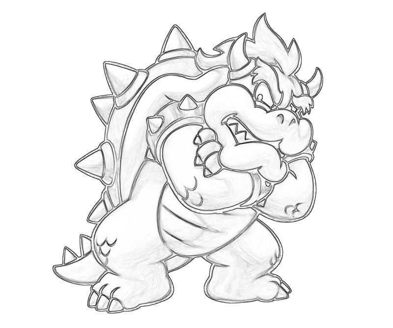 bowser coloring mario bowser coloring pages download and print for free bowser coloring