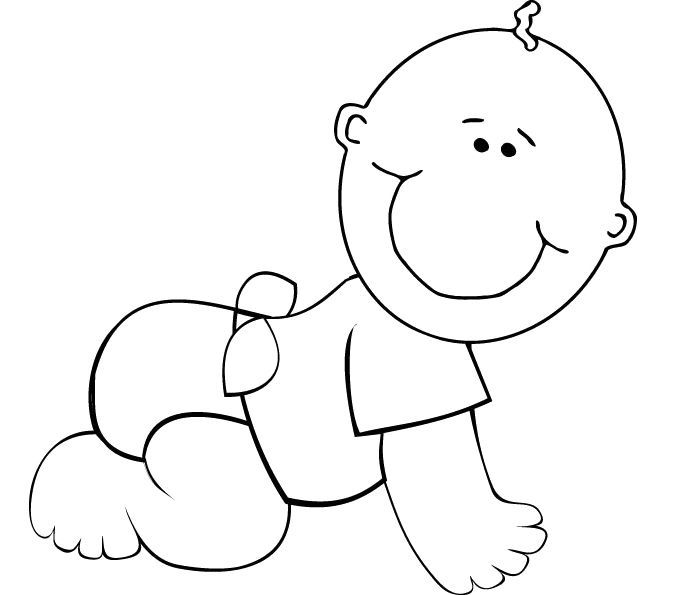 boy coloring template 13 best baby images images on pinterest baby images template coloring boy
