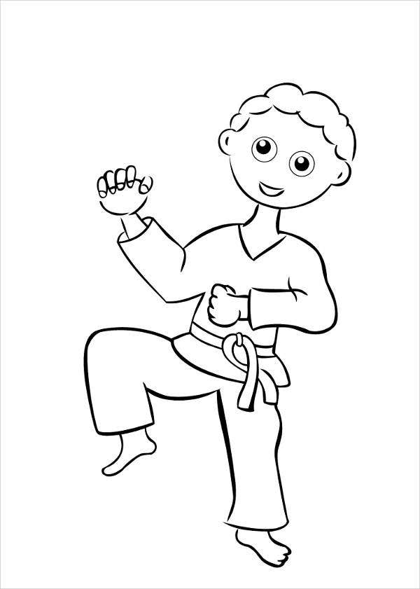 boy coloring template 9 free printable coloring pages for kids free premium boy coloring template