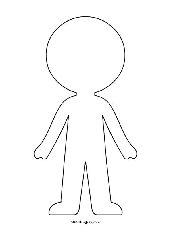 boy coloring template boy paper doll template coloring page paper doll boy coloring template