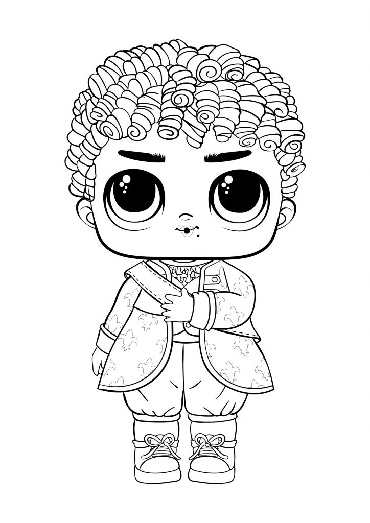 Boy printable lol coloring pages