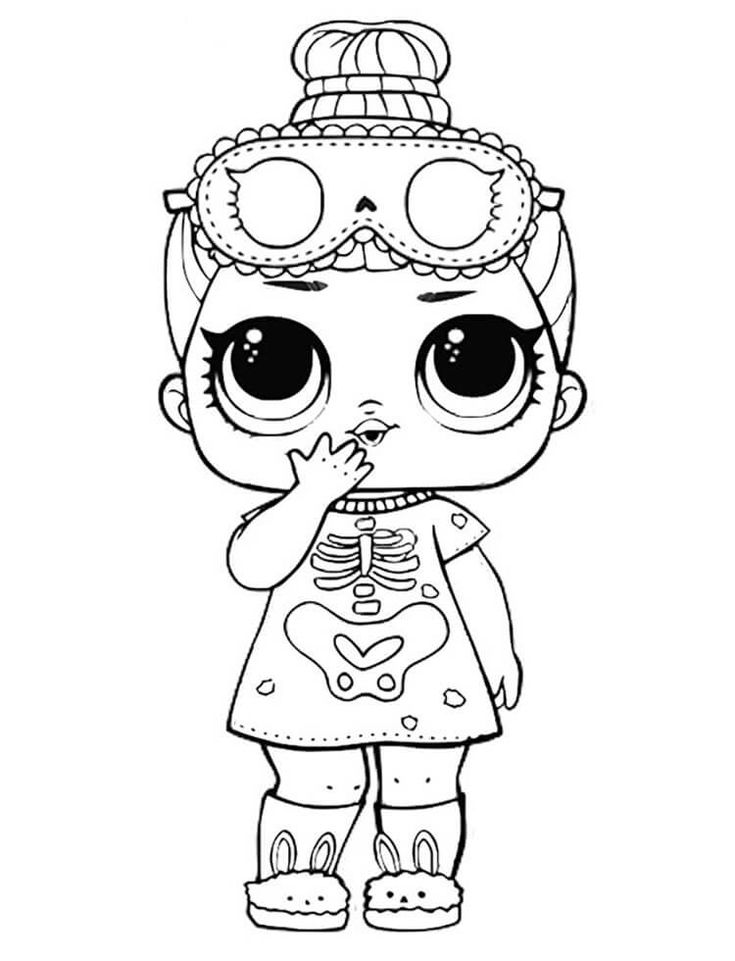 boy printable lol coloring pages sleepy bones lol doll coloring page to print coloring pages printable boy coloring lol