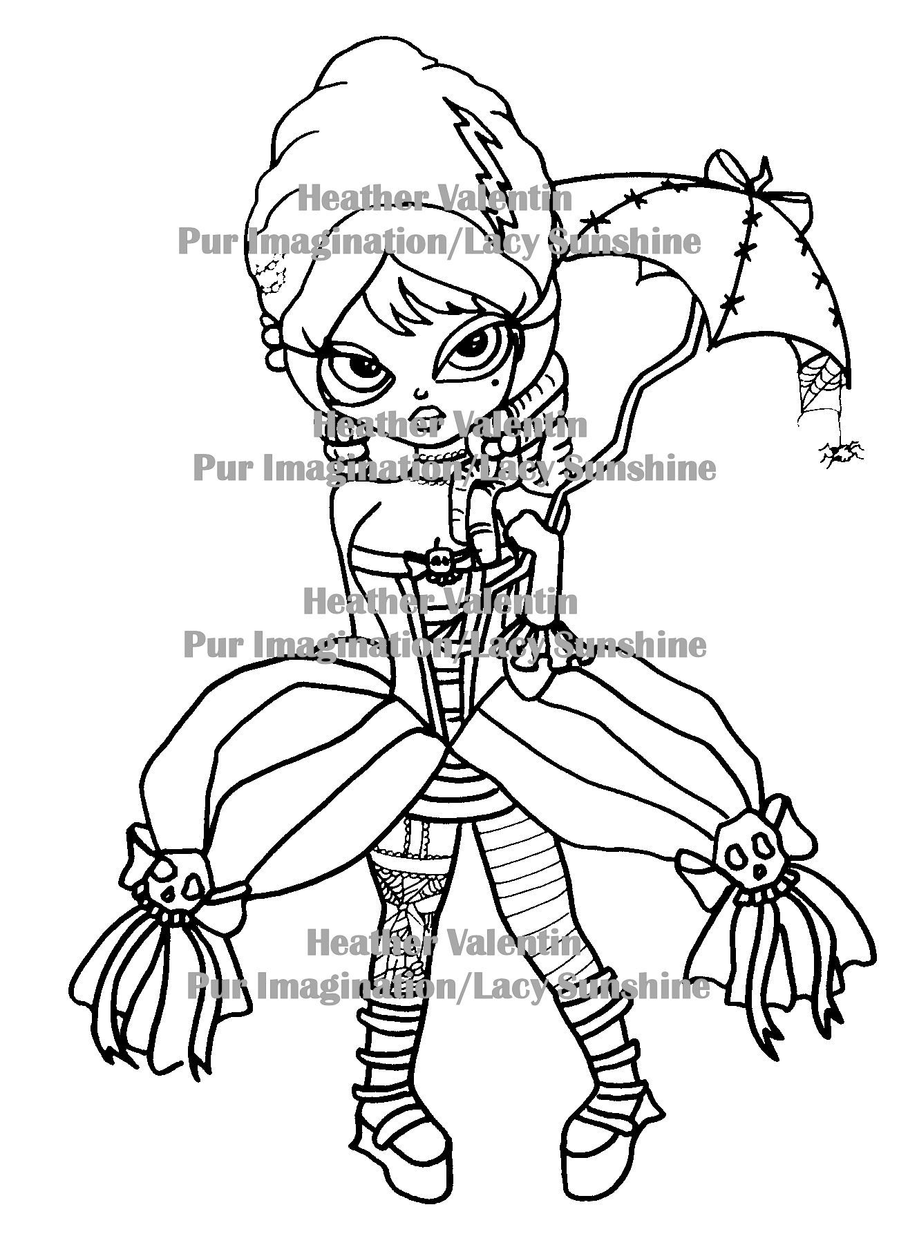 bride of frankenstein coloring pages how to draw frankenstein and his bride step 12 in 2019 bride of frankenstein pages coloring
