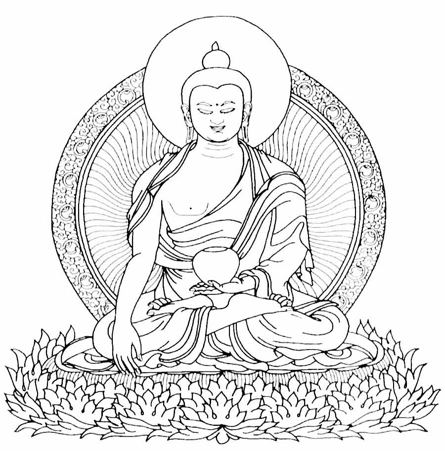 buddha coloring pages coloring pages of buddha coloring home pages buddha coloring