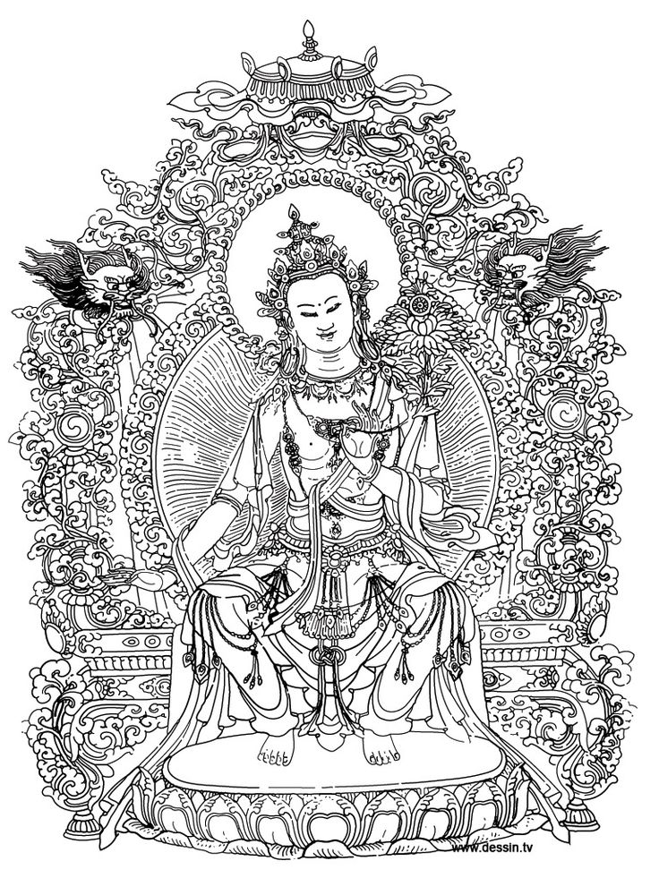 buddha coloring pages rochelle fox art creative process the interconnectedness buddha pages coloring