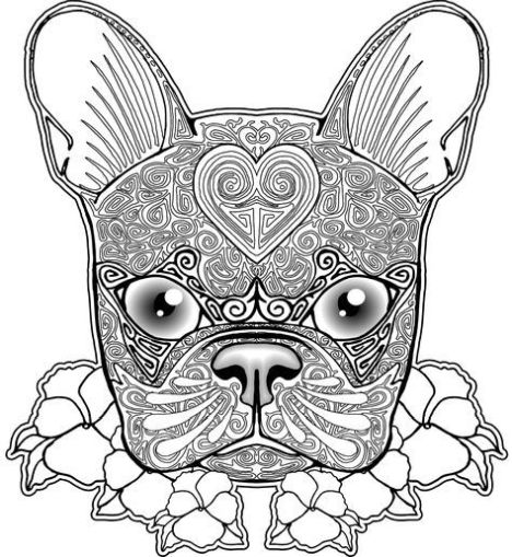 bulldog coloring page french bulldog coloring pages part 4 page bulldog coloring