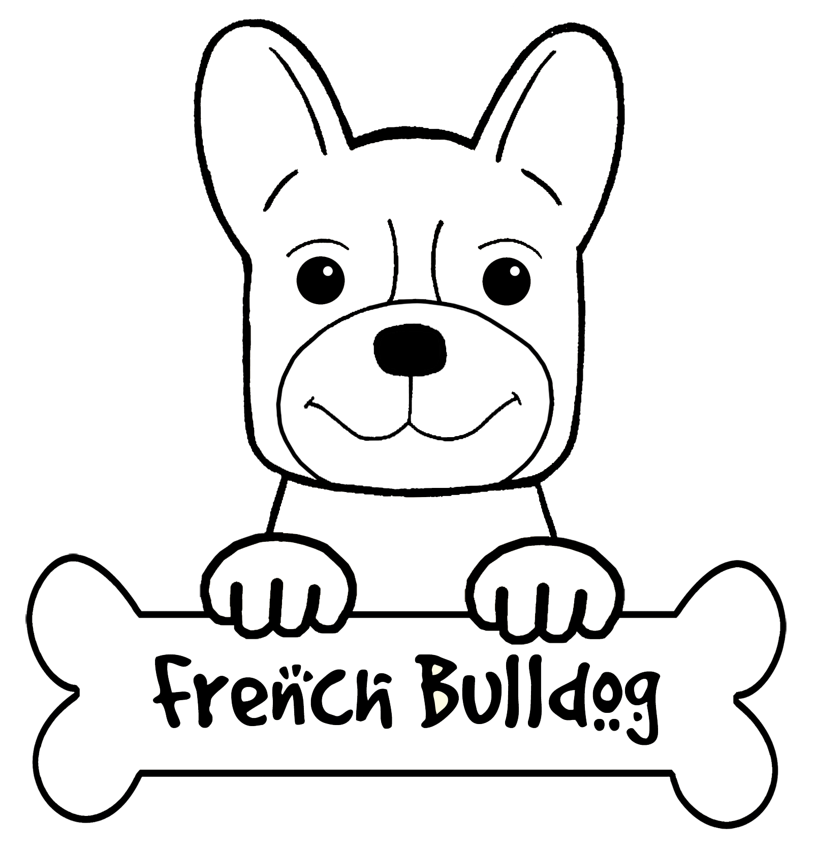bulldog coloring page printable dog coloring pages for kids coloring bulldog page