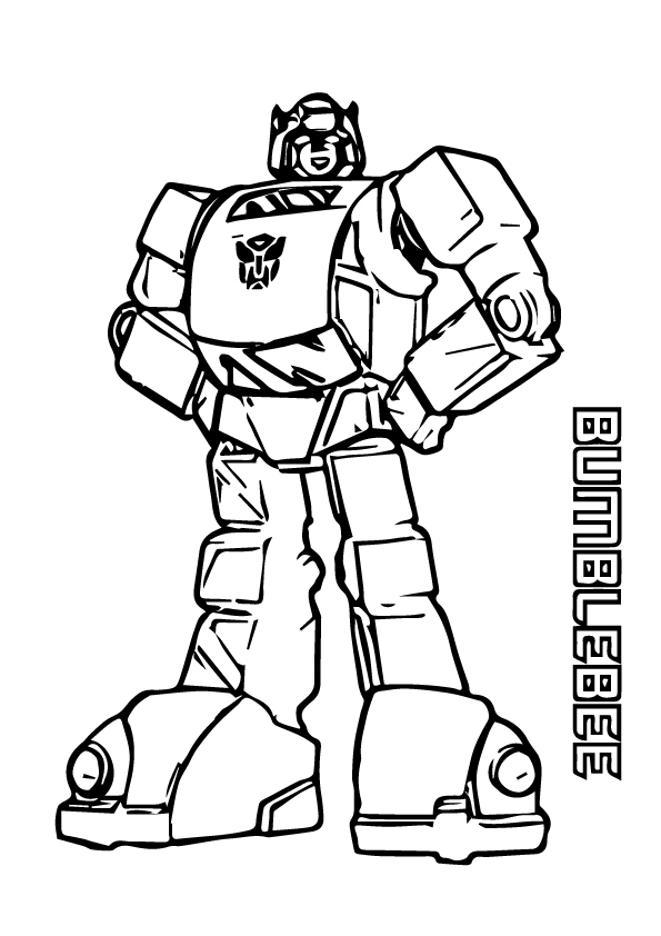 bumblebee transformer coloring pictures bumblebee coloring page free printable coloring pages bumblebee coloring transformer pictures
