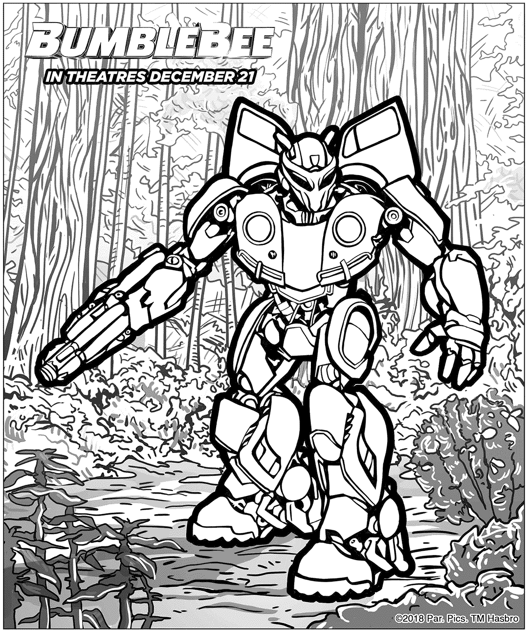 bumblebee transformer coloring pictures bumblebee coloring pages clipart best pictures transformer coloring bumblebee