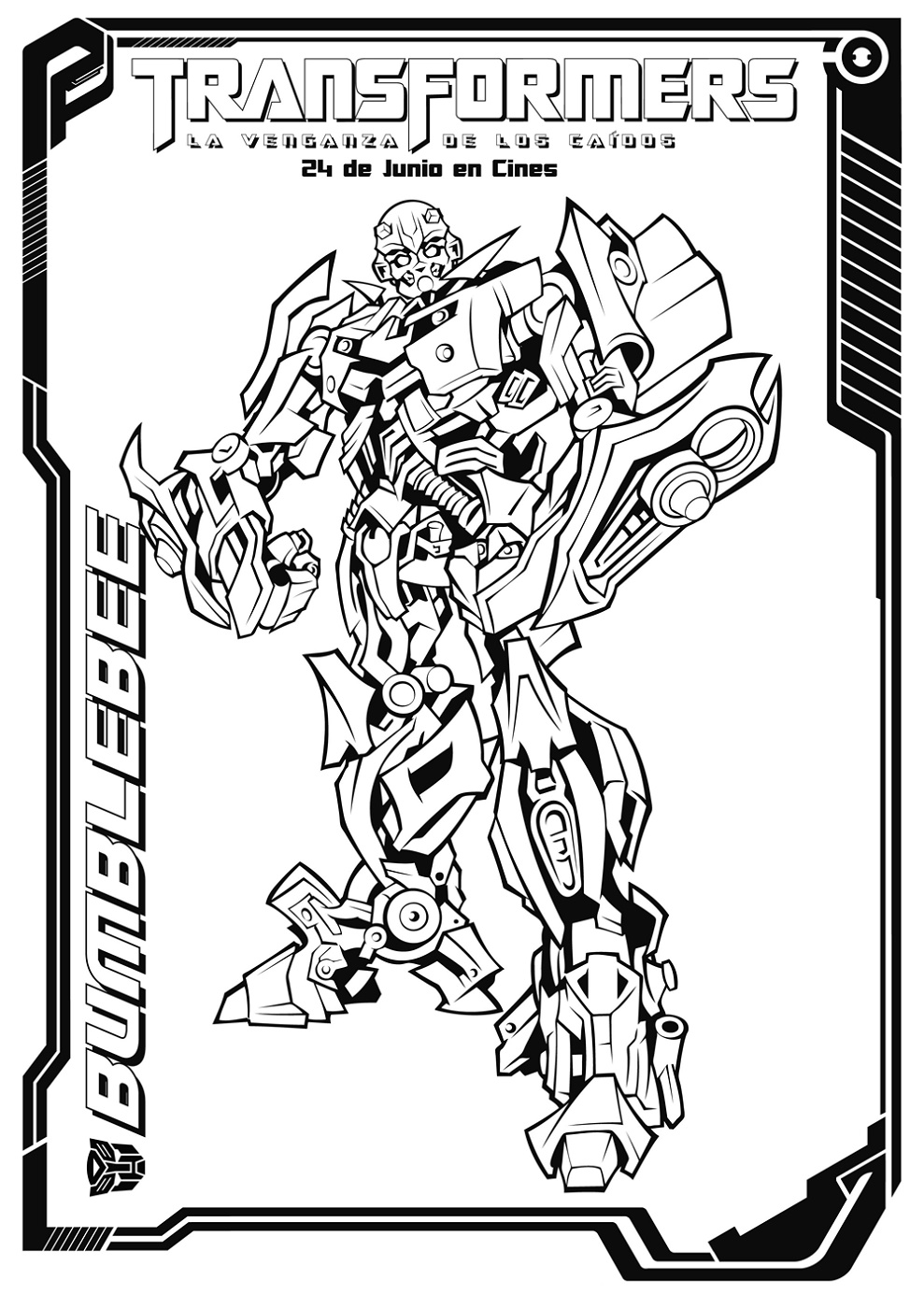 bumblebee transformer coloring pictures the transformers bumblebee colouring image pictures transformer coloring bumblebee