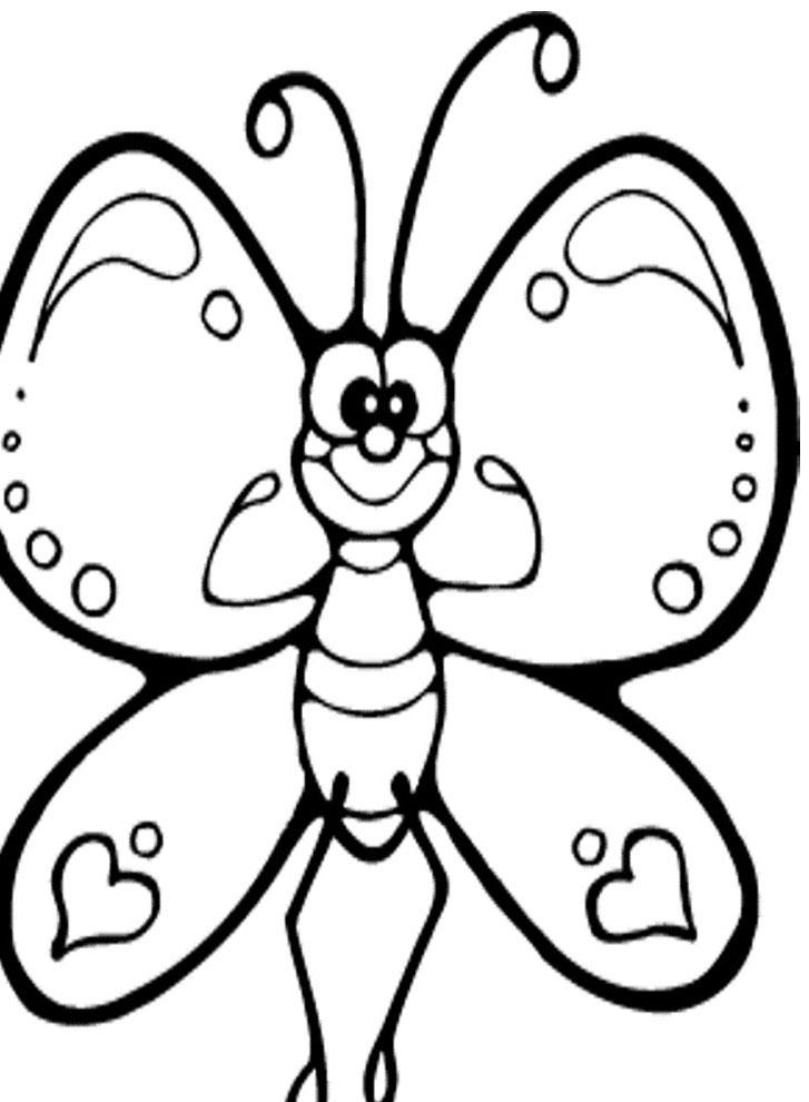 butterfly clipart to color butterfly coloring pages free to download clipart color to butterfly