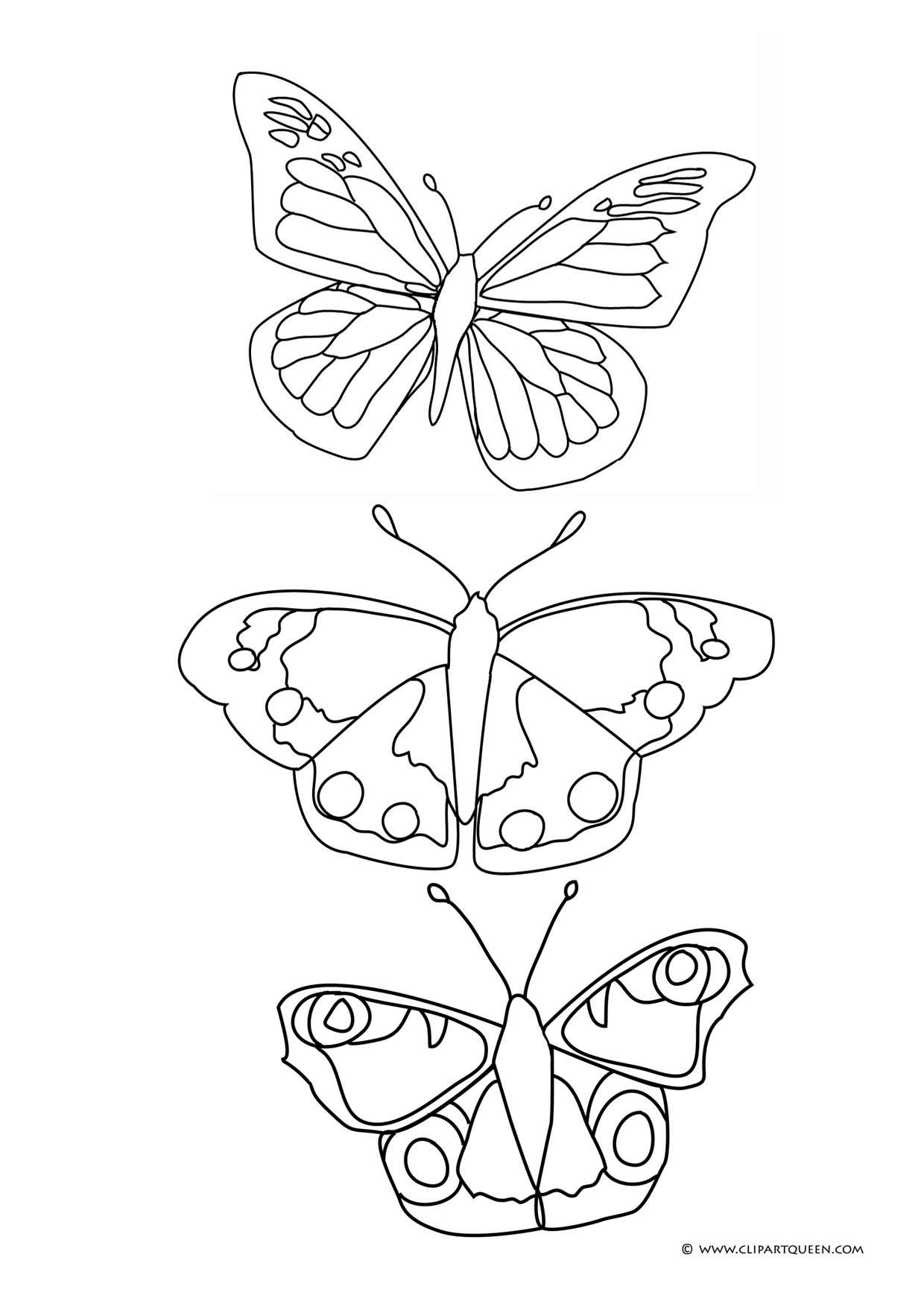 butterfly clipart to color butterfly drawing for kids with color it39s easy how to color to butterfly clipart