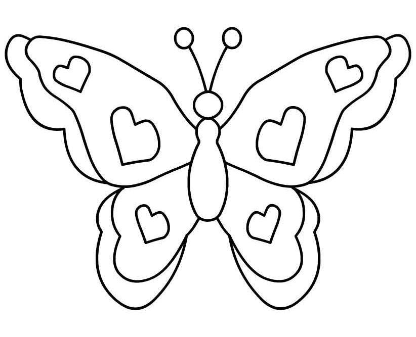 butterfly clipart to color butterfly free images at clkercom vector clip art to color butterfly clipart