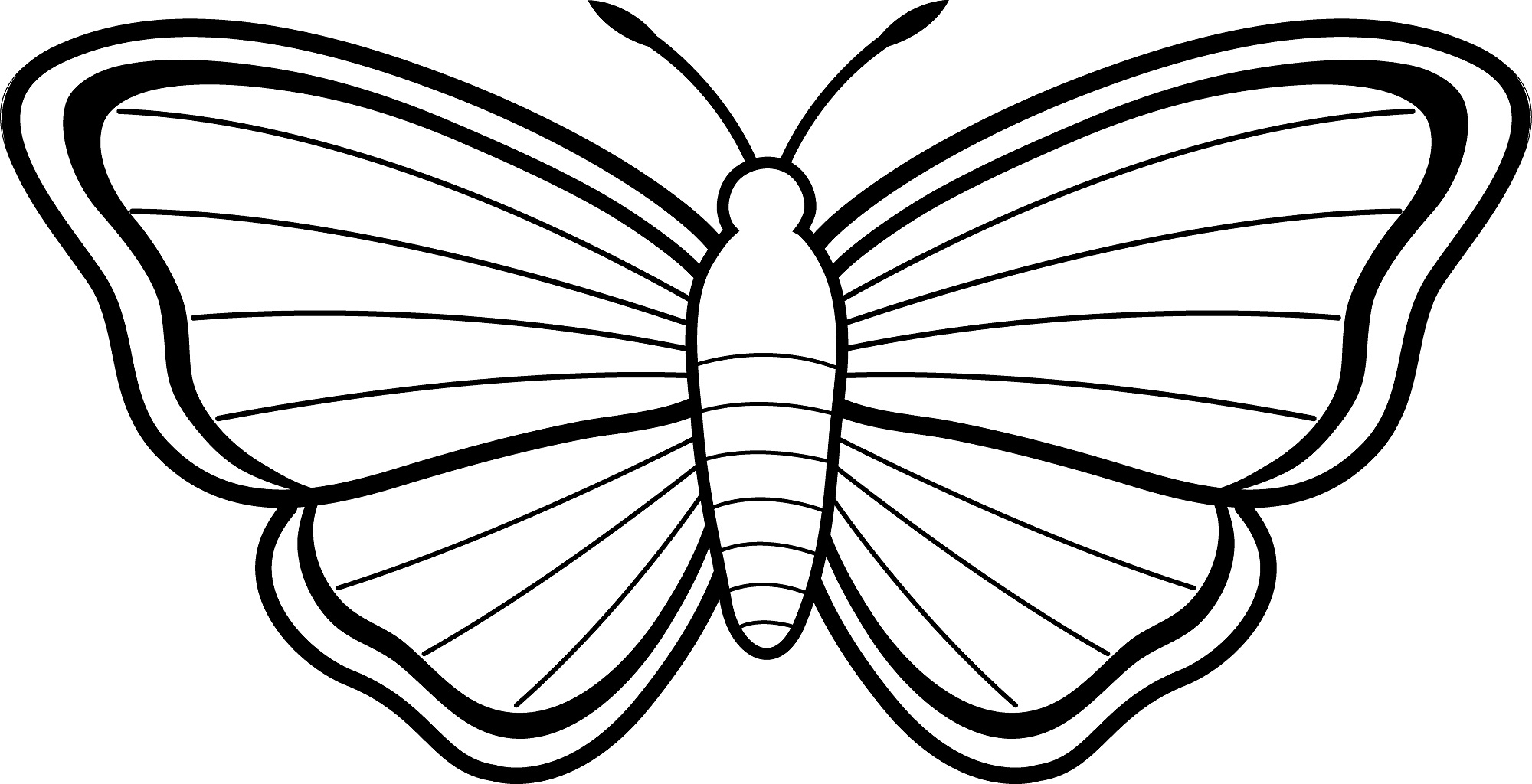 butterfly clipart to color free printable butterfly coloring pages for kids butterfly color clipart to