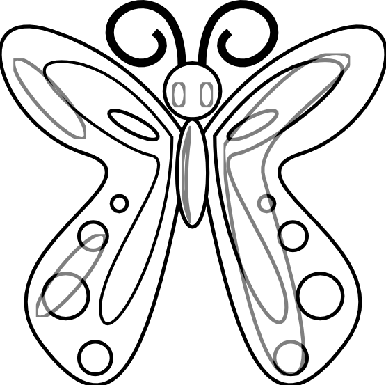 butterfly clipart to color jellyfish clipart black and white clipart panda free clipart butterfly to color