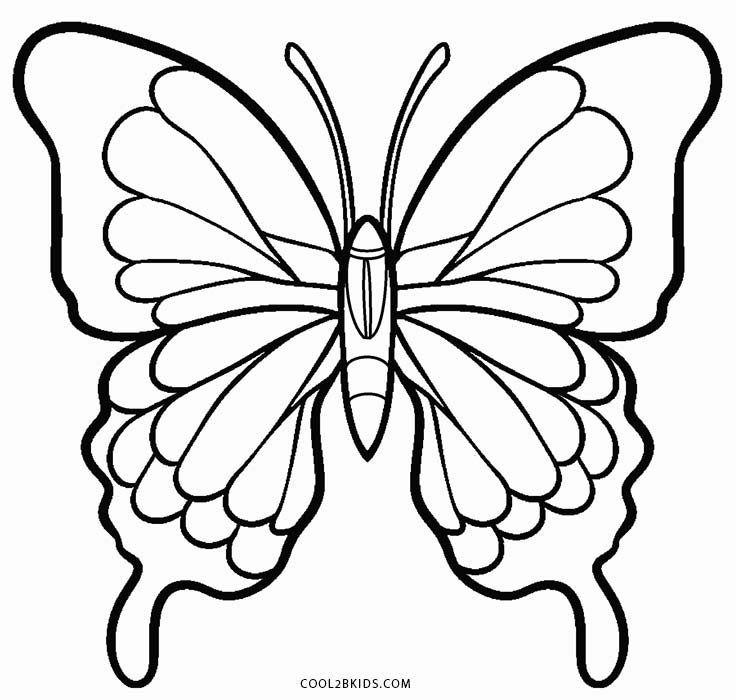 butterfly colouring pics printable butterfly coloring pages for kids cool2bkids butterfly colouring pics