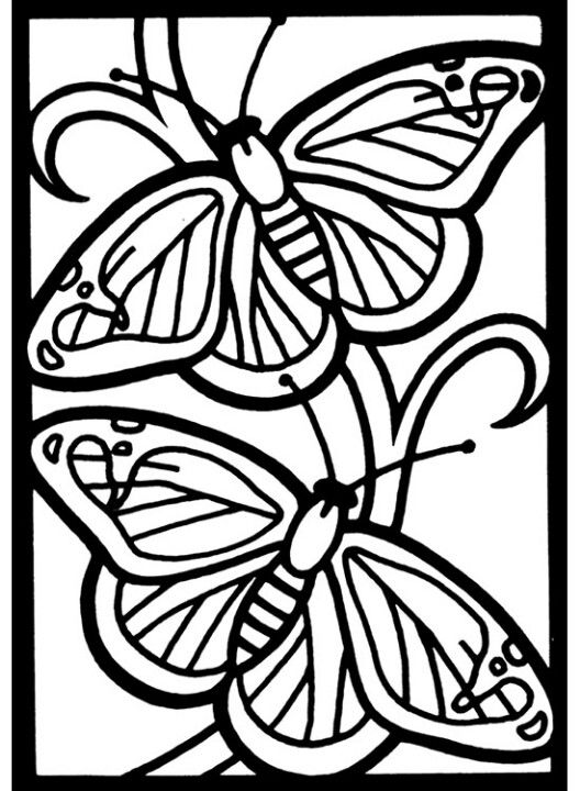 butterfly mosaic coloring page butterfly coloring page 49 butterflies to color pinterest butterfly page coloring mosaic