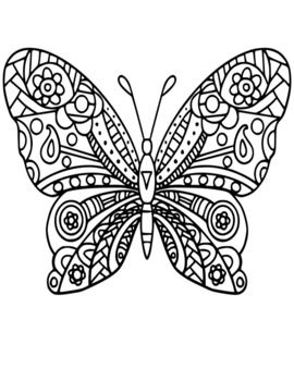 butterfly mosaic coloring page butterfly stained glass adult coloring pages by joenay page coloring butterfly mosaic