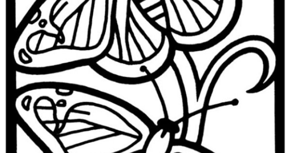 butterfly mosaic coloring page sacred geometry mosaic coloring page download print coloring butterfly page mosaic
