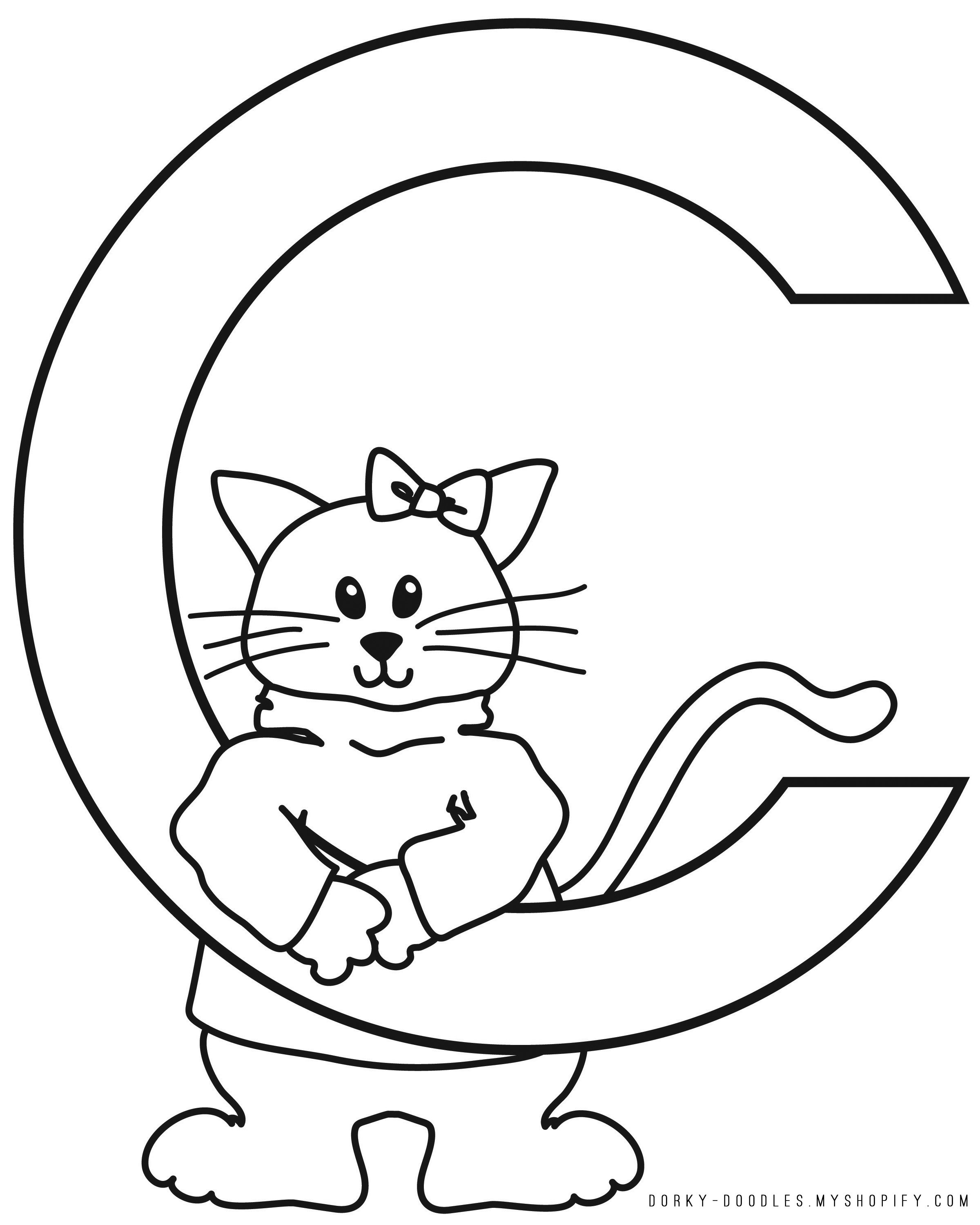 c for coloring page letter c coloring pages to download and print for free page for c coloring